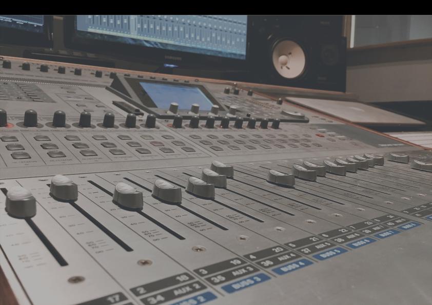 Opnamestudio Haarlem || SoundDesign || Muziek op maat || Stock Music || Voice-Overs || Band opnames